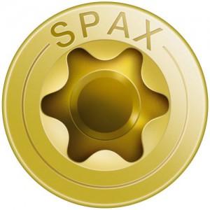 Spax Schrauben T-STAR plus der Antrieb für Spanplattenschrauben und Holzschrauben