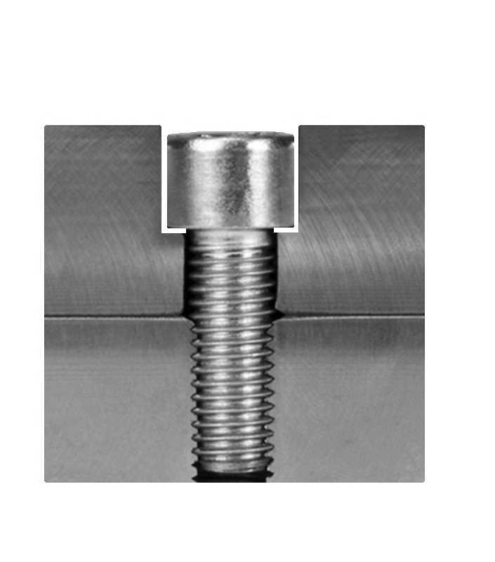 Bohrtabelle für Zylinderschrauben für die Schraubensenkung nach DIN 74