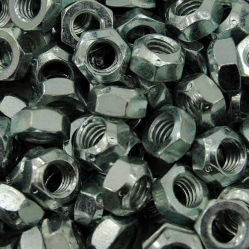DIN 980 galvanisch verzinkt Ganzmetallsicherungsmuttern Form V