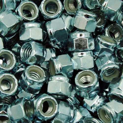 DIN 982 / DIN EN ISO 7040 galvanisch verzinkt