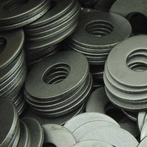 Große Unterlegscheiben Stahl Blank DIN 9021 / DIN EN ISO 7093