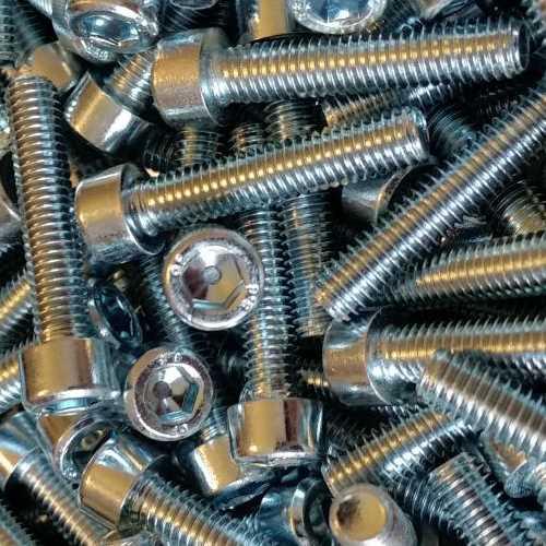 Innensechskantschrauben M3 galvanisch verzinkt DIN 912 / DIN-EN-ISO 4762 mit Güte 8.8