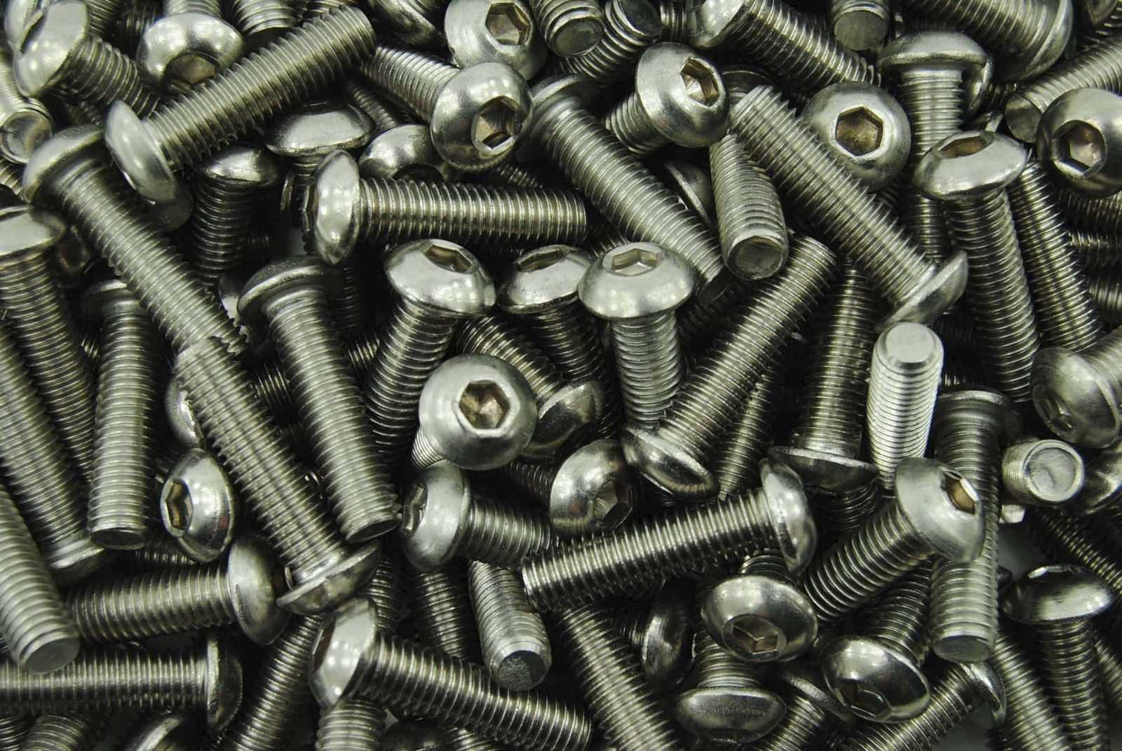 ISO 7380-1 Flachkopfschrauben mit Innensechskant Edelstahl A2-70 Foto/Skizze: Schraube & Mutter 49429 Visbek