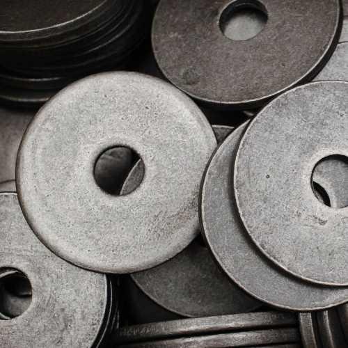 Kotflügelscheiben Karosseriescheiben DIN 522 Stahl blank