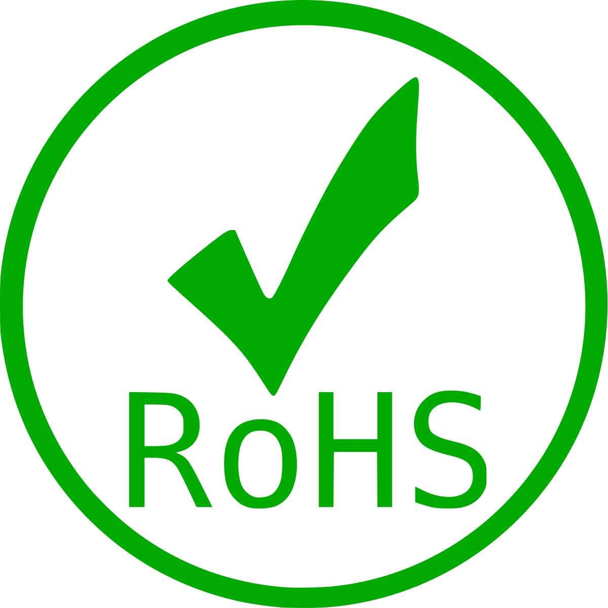 REACH-RoHS Konformitätserklärung für Schrauben und Muttern