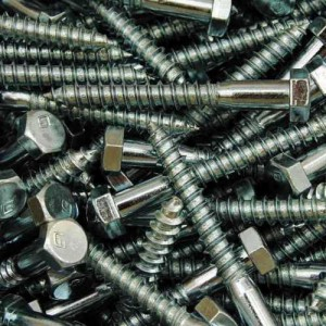 Sechskantholzschrauben DIN 571 galvanisch verzinkt - Schlüsselschrauben