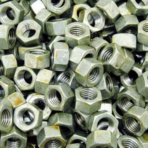 Sechskantmuttern DIN 934 / DIN-EN-ISO 4032 Feuerverzinkt ( tzn ) ISO Gewinde passend in Klasse 8
