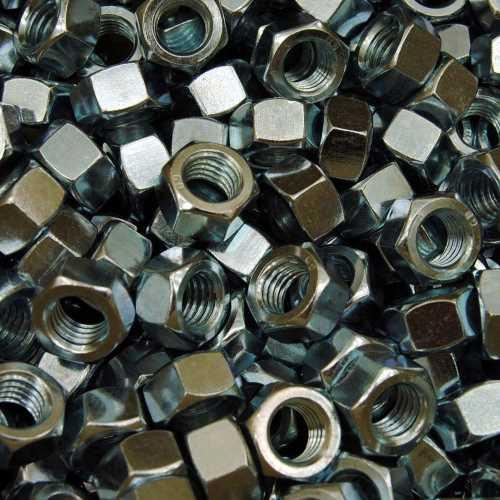 Sechskantmuttern DIN 934 galvanisch vernickelt ( E1A )