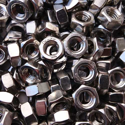 Sechskantmuttern DIN 934 / DIN EN ISO 4032 Edelstahl A2-70
