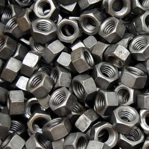 Sechskantmuttern ISO 4032 Stahl blank mit Güte 8