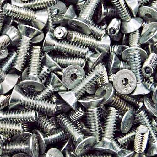 Senkschrauben mit Innensechskant DIN 7991 / DIN-EN-ISO 10642 M12 galvanisch verzinkt 8.8