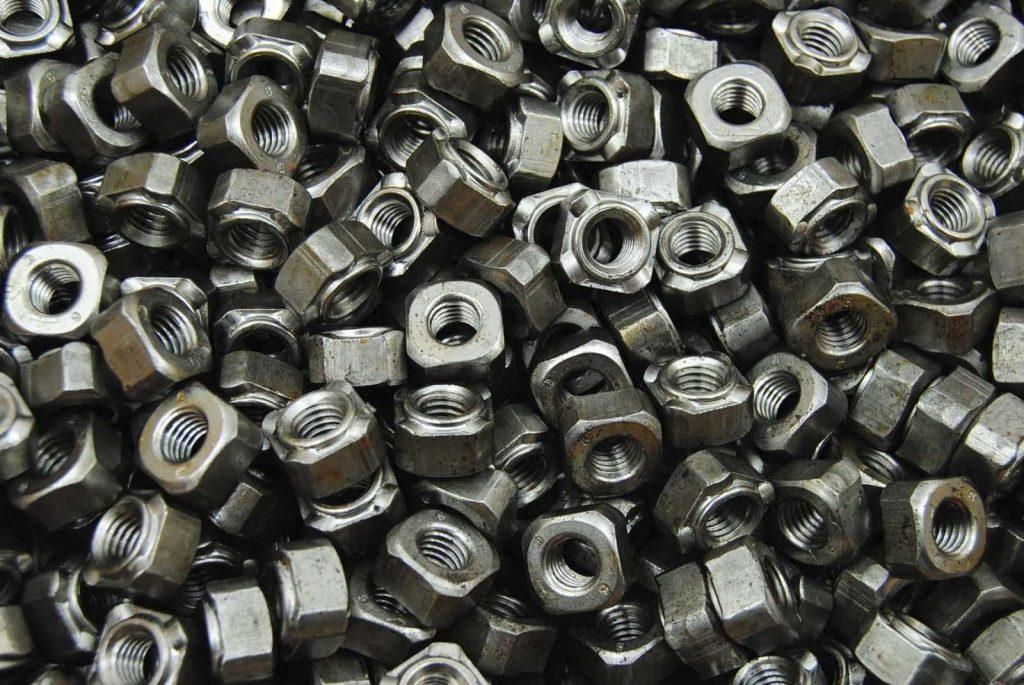 Stahl blank die Oberfläche für Schrauben und Muttern