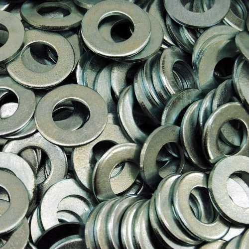 Unterlegscheiben DIN 125-1 galvanisch Verzinkt Form B mit Fase