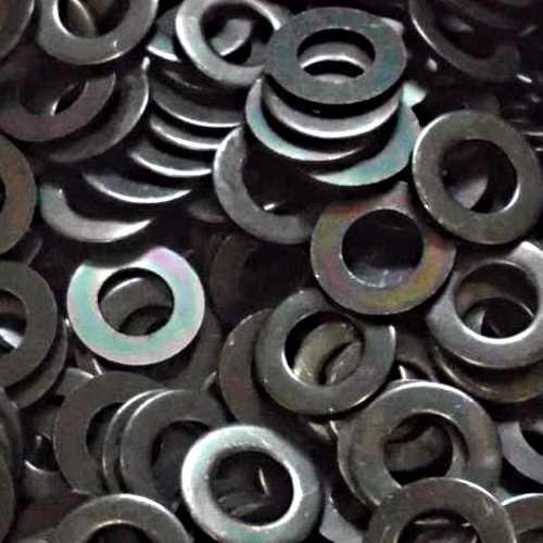Unterlegscheiben DIN 125 / DIN-EN-ISO 7089 schwarz verzinkt Form A ohne Fase 140 HV