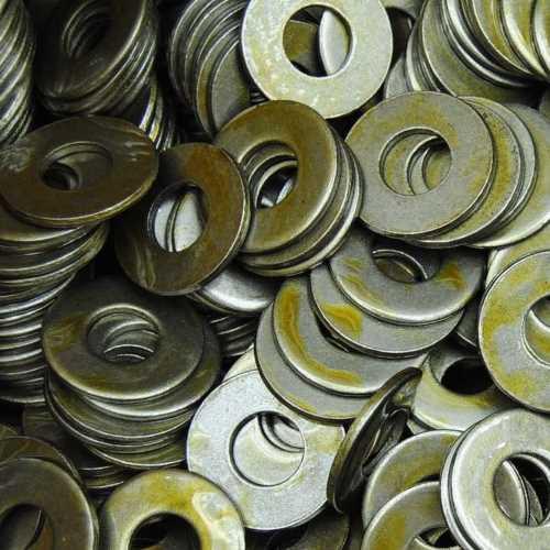 Unterlegscheiben DIN 125-1 Stahl blank Form B mit Fase