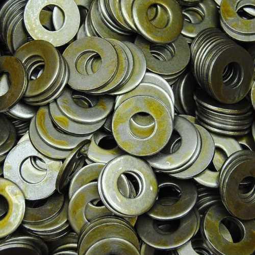 Unterlegscheiben DIN 125 / DIN-EN-ISO 7089 Stahl blank Form A ohne Fase 140 HV